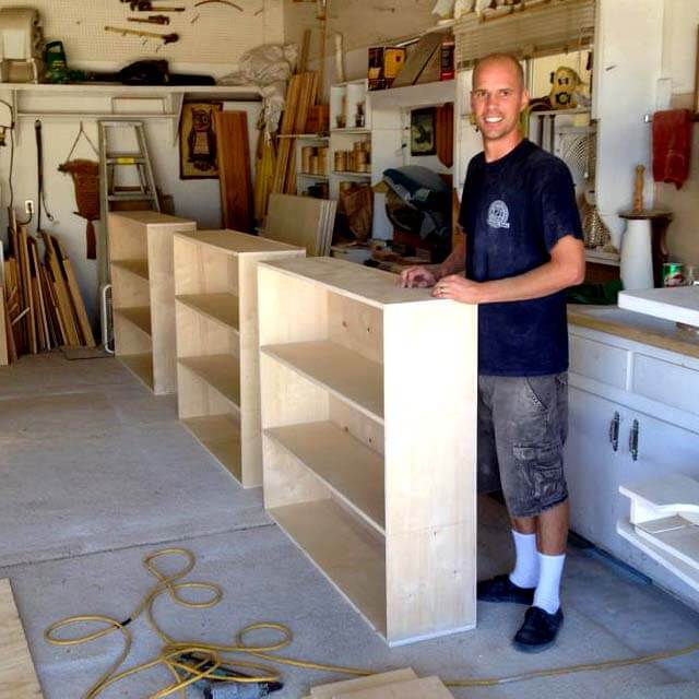 Cabinets for Children's Ministry classrooms.